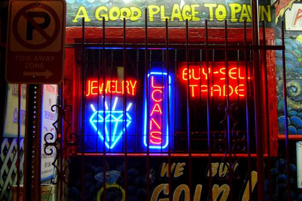 neon pawn shop