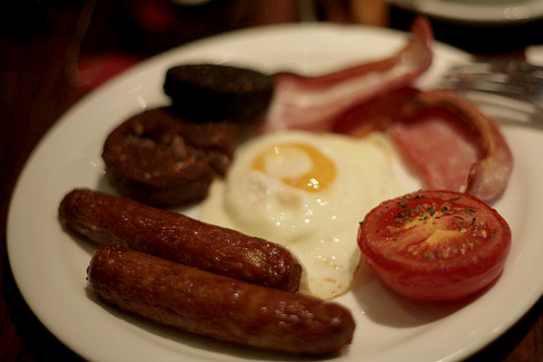 Hangover foods: Irish breakfast