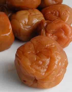 Japanese pickled plums