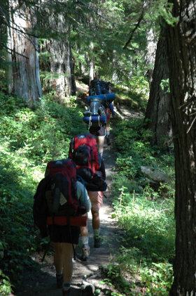 backpacking photo