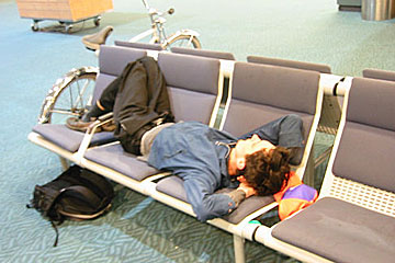 Sleeping at YVR