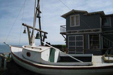 Pablo Neruda's house in Isla Negra