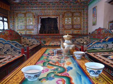 Butter tea in Tibet