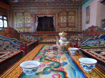 Butter tea in Tibet