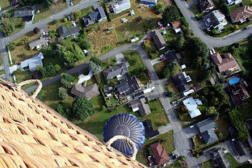 View from a balloon