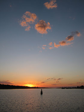 Lakes Entrance sunset