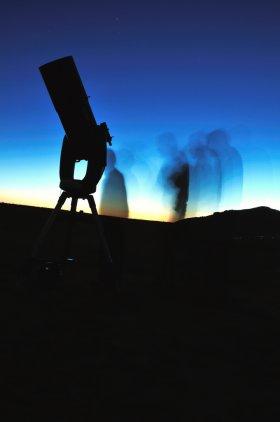 Stargazing party in Utah