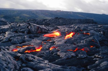 Big Island lava flow