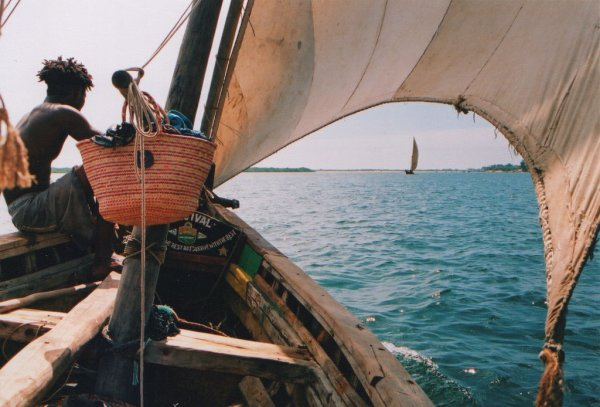 Dhow off Lamu