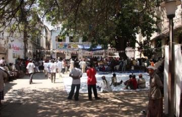 Lamu Fort Square