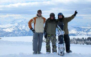 Riding Powder Mountain, Utah