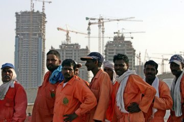Foreign workers in Dubai