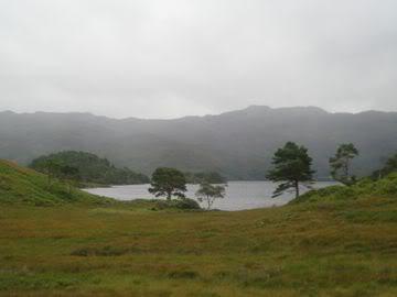 Loch Morar mist