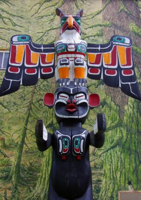 Totem, Duncan, British Columbia