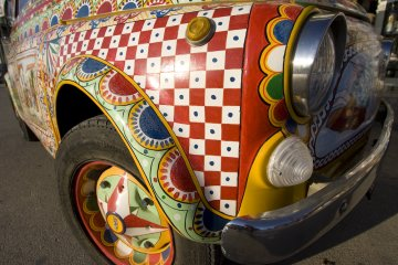 Art car, Sicily
