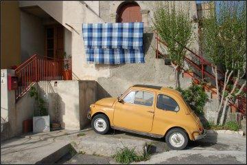 Tiny Sicilian car