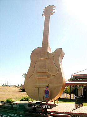 Tamworth guitar
