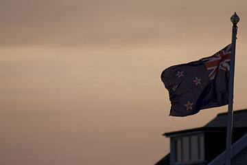 New Zealand flag, southern cross