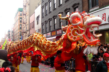 Chinese New Year's Parade