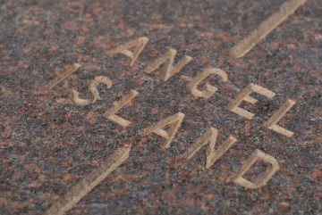 Angel Island marker