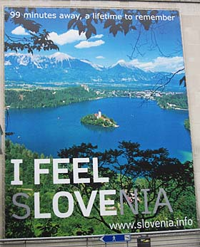 Slovenia sign