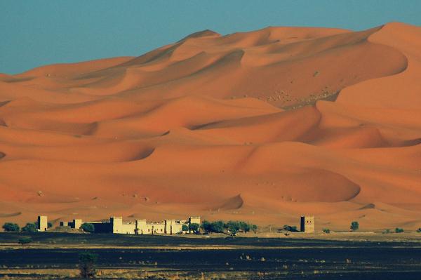 Moroccan desertscape