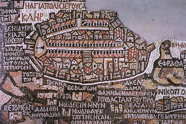 Madaba map mosaic