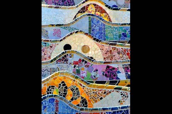 Parc Güell mozaikok