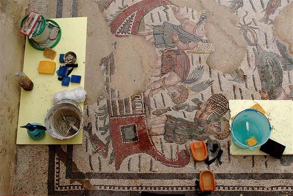 Villa Romana del Casale mosaics