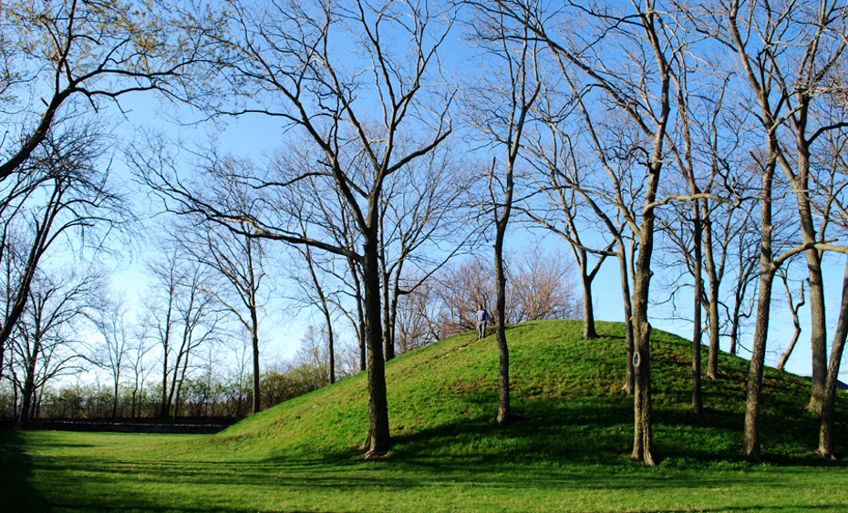 Burial mound, Ohio