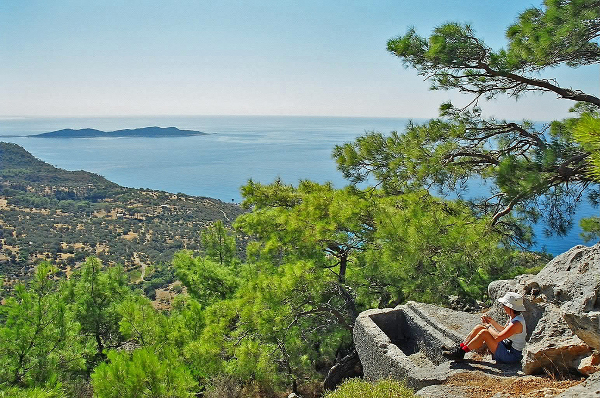 View over the Lycian Way
