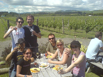 Martinborough wine tasting