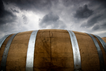 Wine barrel, Texas