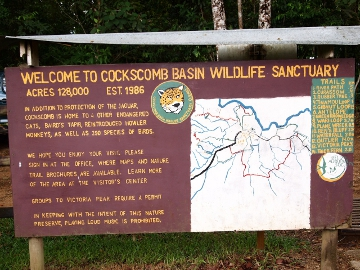 Cockscomb National Park