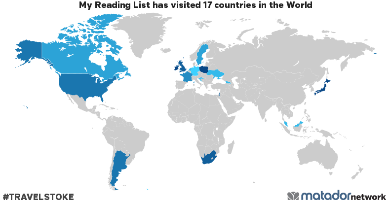 My Reading Lists Travel Map Matador Network - Germany japan map