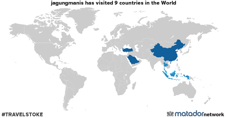 jagungmanis's Travel Map