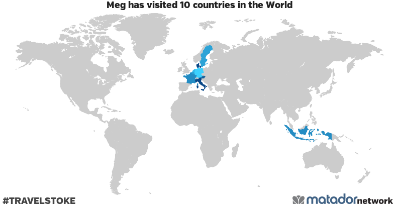 Meg's Travel Map