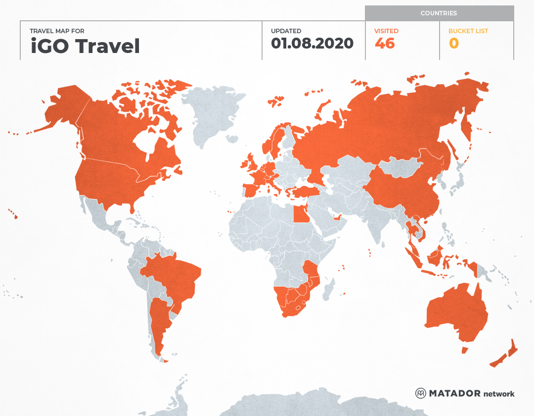 iGO Travel's Travel Map - Matador Network