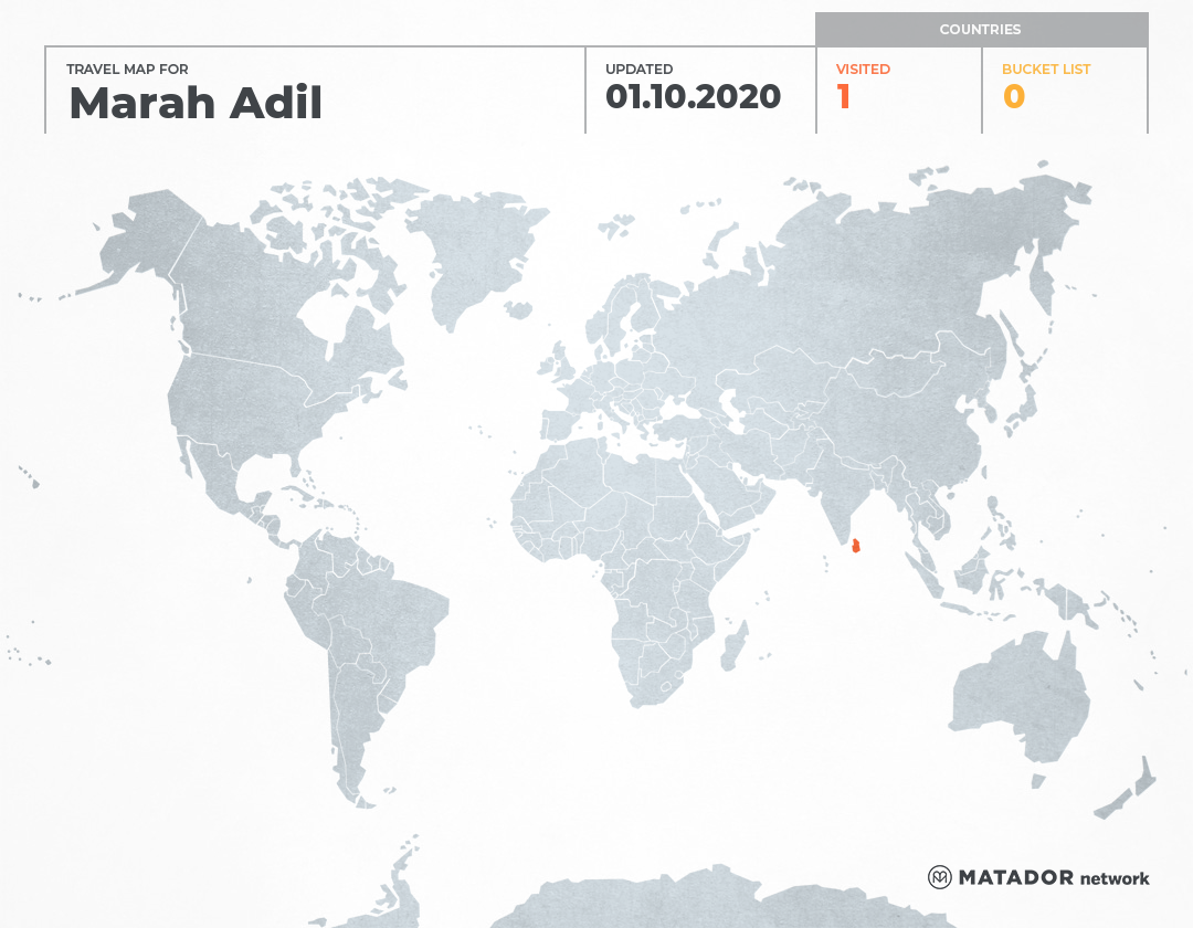 Marah Adil's Travel Map