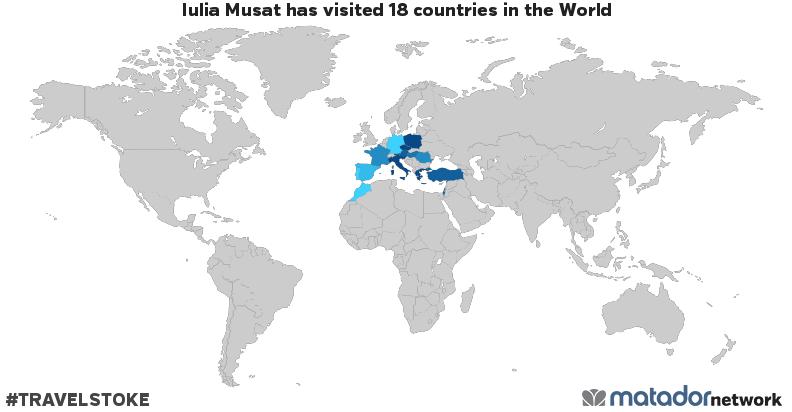 Iulia Musat's Travel Map