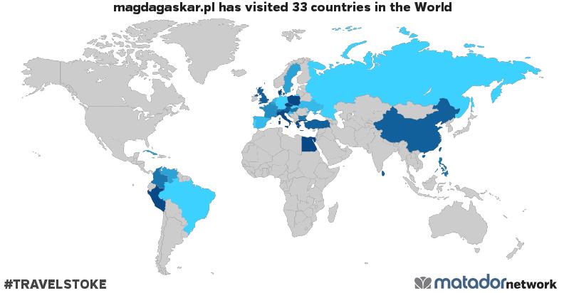 Mapa podróży Magdagaskar.pl