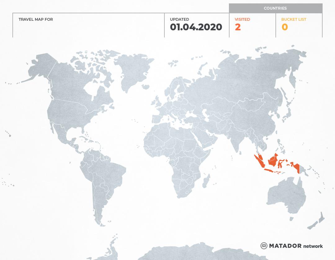 Cerita Alika's Travel Map