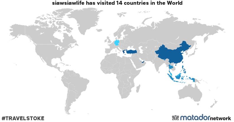 siawsiawlife's Travel Map