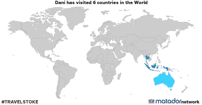 Danis travel map matador network danis travel map gumiabroncs Images