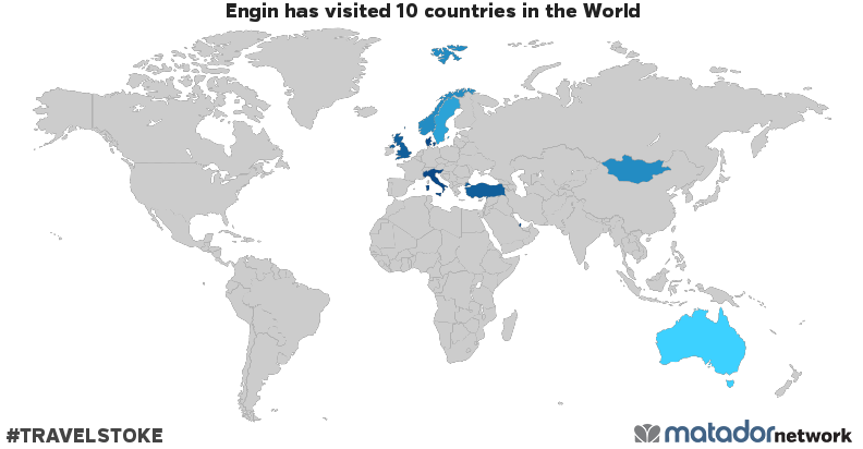 Engins Travel Map Matador Network