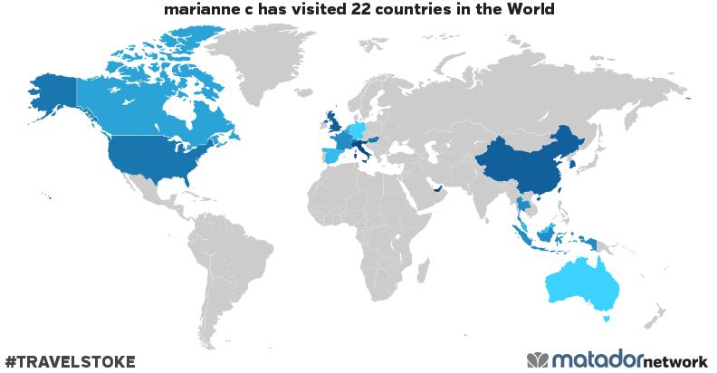 marianne c's Travel Map - Matador Network on