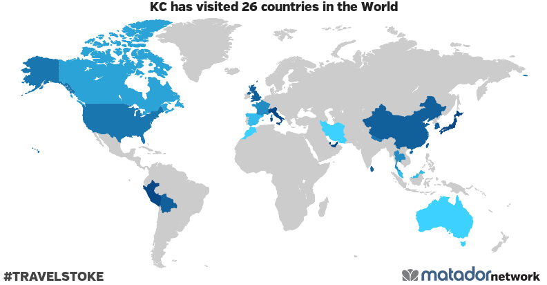 KCs Travel Map Matador Network