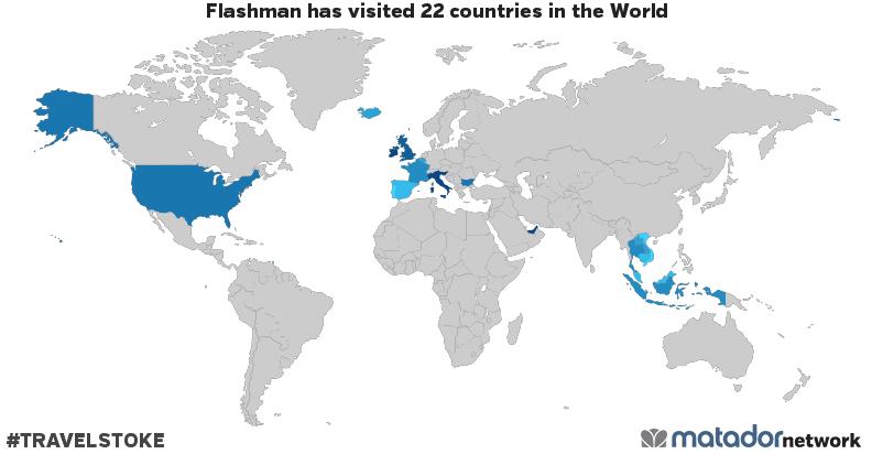 Flashmans Travel Map Matador Network