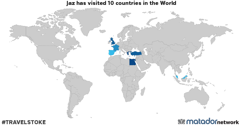 Jazs travel map matador network jazs travel map gumiabroncs Image collections