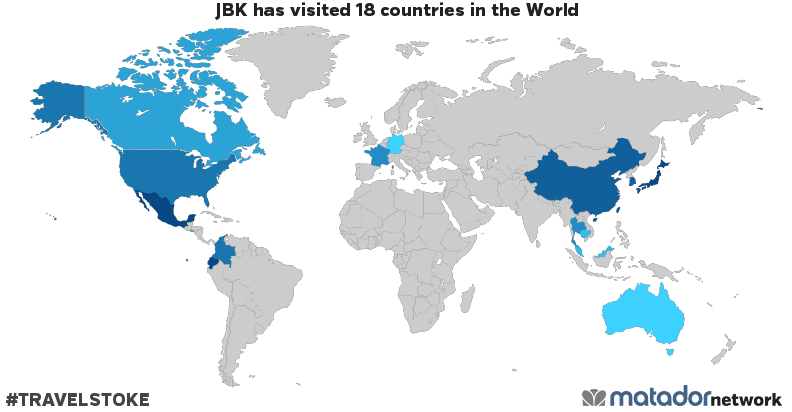 Jbks travel map matador network jbks travel map gumiabroncs Images
